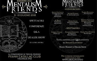 Protetto: Mentalism Friends 2018