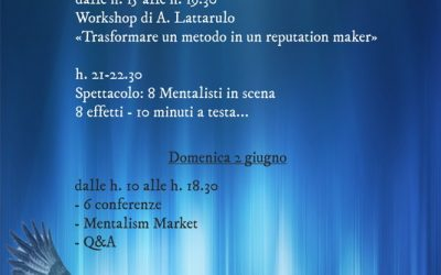 Protetto: Mentalism Friends 2019
